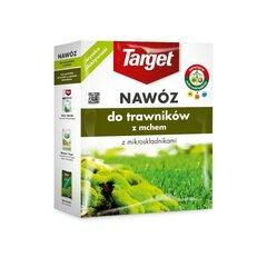 Granuliuotos trąšos vejai su samanomis Target, 1KG kaina ir informacija | Birios trąšos | pigu.lt