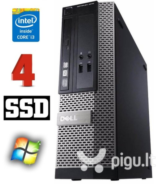 DELL 3010 SFF i3-3220 4GB 120SSD DVD WIN10Pro