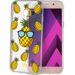 Samsung Galaxy A3(2017) cover Teen Pineapple By Celly Transparent