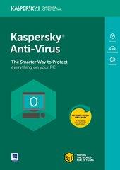 Kaspersky Anti-Virus 2018 pratęsimo licenzija (2 įreng.)