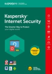Kaspersky Internet Security Multi-Device 2018 nauja licenzija (2 įreng.)