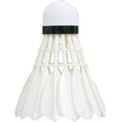 Badmintono skrajukai Talbot Torro Hit 750 Natural, 12 vnt. kaina ir informacija | Badmintonas | pigu.lt