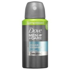 Purškiamas antiperspirantas vyrams Dove Men+ Care Clean Comfort Compressed 75 ml