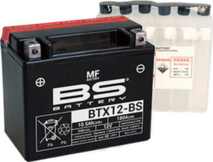 Akumuliatorius BS-Battery BTX12-BS 12V 10.5 Ah
