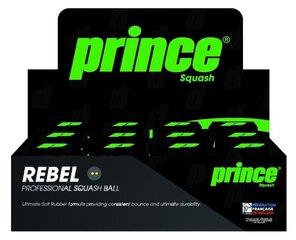 Skvošo kamuoliukai Prince Rebel Double, 12 vnt.