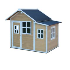 "Medinis žaidimų namelis ""Loft 150"", medienos spalva, EXIT (FSC 100%)"