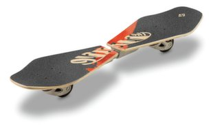 Riedlentė Street Surfing Wave Rider Abstract Wooden Casterboard