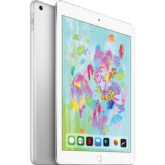 "Apple iPad 9.7"" Wi-Fi+4G 128GB, Sidabrinė, 6th gen, MR732HC/A"