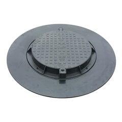 Пластмассовая крышка 780PE -B 100 см цена и информация | Пластмассовая крышка 780PE -B 100 см | pigu.lt