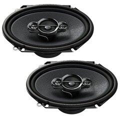 "Pioneer, TS-A6834i 6"" x 8"" 3-juostų koaksialiniai garsiakalbiai"