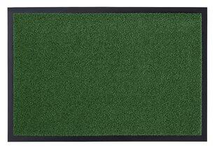 Hanse Home durų kilimėlis Garden Brush Green, 90x150 cm kaina ir informacija | Durų kilimėliai | pigu.lt