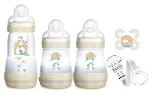 MAM dovanų rinkinys naujagimiui Welcome to the World, 0 mėn+ kaina ir informacija | Buteliukai kūdikiams ir jų priedai | pigu.lt