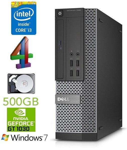 DELL 7020 SFF i3-4150 4GB 500GB GT1030 2GB DVDRW WIN7Pro