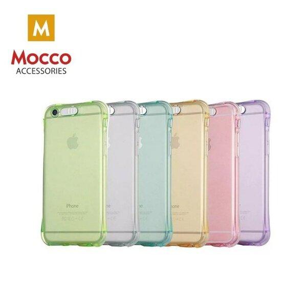 Telefono dėklasMocco LED Back Case, skirtas Apple iPhone 5 / 5S / SE telefonams, auksinis kaina