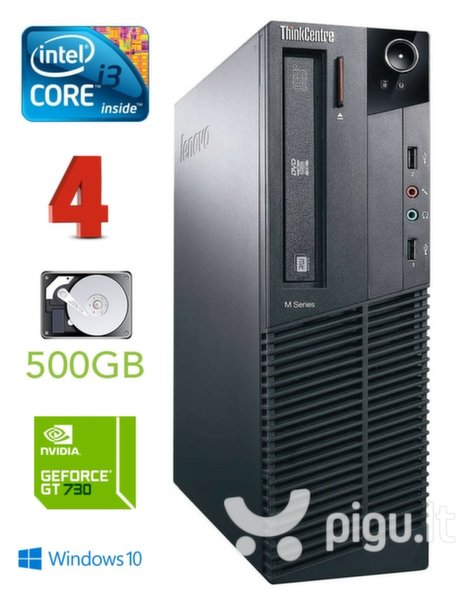 Lenovo ThinkCentre M82 SFF i3-3240 4GB 500GB GT730 2GB DVD WIN10Pro