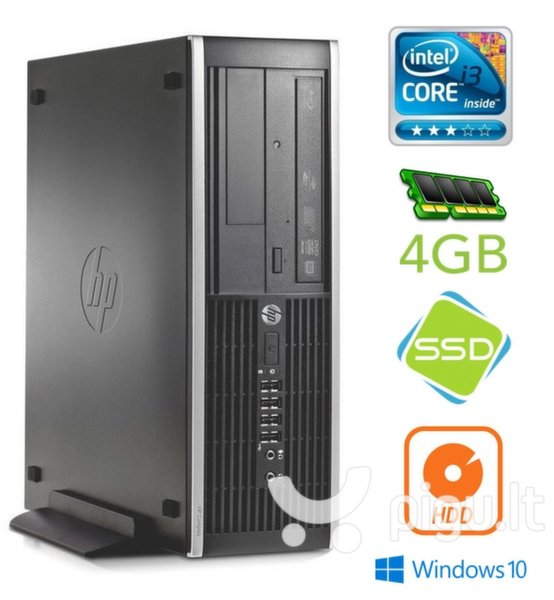HP 6300 PRO SFF i3-3220 4GB 120SSD+250GB DVD WIN10Pro