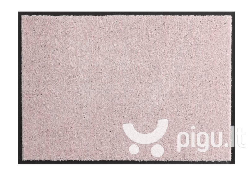 Hanse Home durų kilimėlis Soft & Clean Pink, 39x58 cm