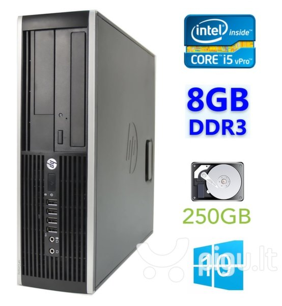 HP 8300 Elite SFF i5-3470 8GB 250GB DVDRW WIN10Pro