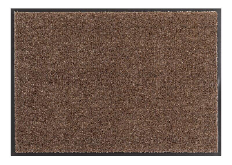 Hanse Home durų kilimėlis Soft & Clean Brown, 39x80 cm