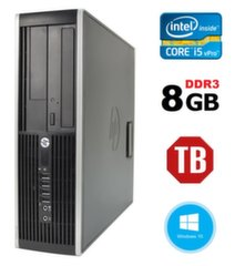HP 8300 Elite SFF i5-3470 8GB 1TB DVDRW WIN10Pro