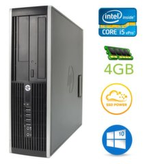HP 8300 Elite SFF i5-3470 4GB 120SSD DVDRW WIN10Pro