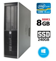 HP 8300 Elite SFF i5-3470 8GB 240SSD DVDRW WIN10Pro