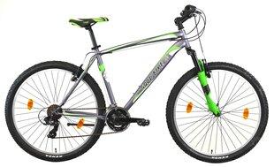 Kalnų dviratis Good Bike MTB 27,5'', pilkas/žalias