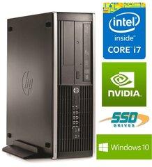 HP Eite 8300 SFF i7-3770 8GB 240SSD DVDRW GT1030 2GB WIN10Pro kaina ir informacija | Stacionarūs kompiuteriai | pigu.lt