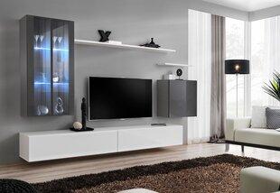 Sekcija Switch XII, pilka/balta kaina ir informacija | Sekcijos | pigu.lt