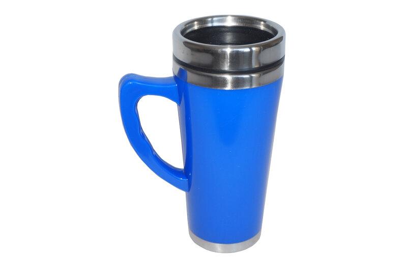 Termo puodelis 0,45 l, mėlynas