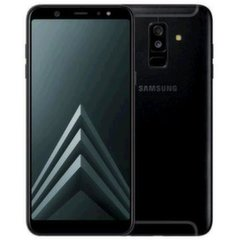 Samsung Galaxy A6 Plus (2018), 32 GB, Dual SIM, Juoda