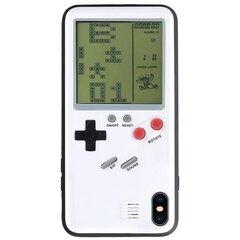 Baltas dėkliukas telefonui su žaidimu Tetris, skirtas Apple iPhone 6