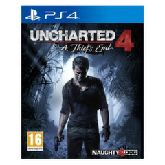 Žaidimas Uncharted 4: A Thief's End, PS4