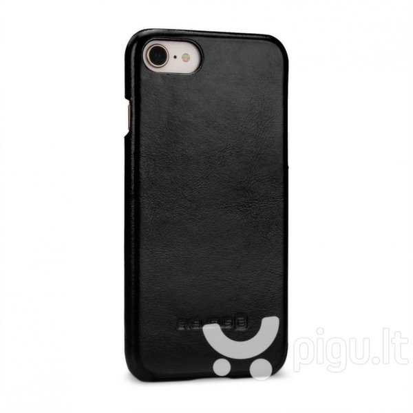 Apsauginis dėklas Evelatus Leather Case Vintage Apple iPhone 7/8 Black