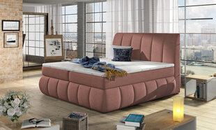 Lova Vincenzo, 160X200 cm, rožinė kaina ir informacija | Lovos | pigu.lt