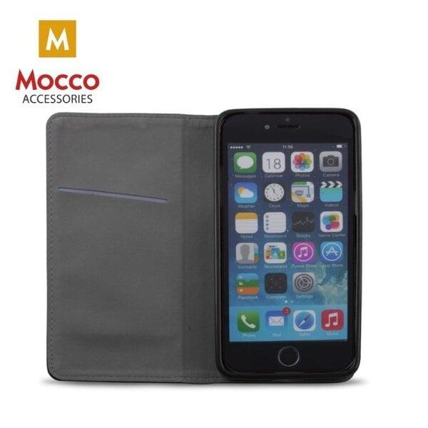 Atverčiamas dėklas Mocco Smart Magnet, skirtas Huawei P20 telefonui, mėlynas