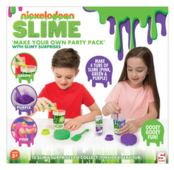 Gleivių šlykštukų rinkinys Slime Nickelodeon Make Your Own Party Pack