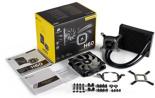 Corsair Hydro Series H60 (2018) 120mm Liquid CPU Cooler (CW-9060036-WW)