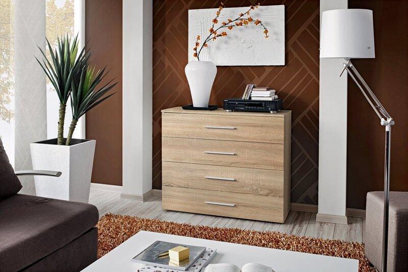 Miegamojo baldų komplektas Vicky 160, rudas
