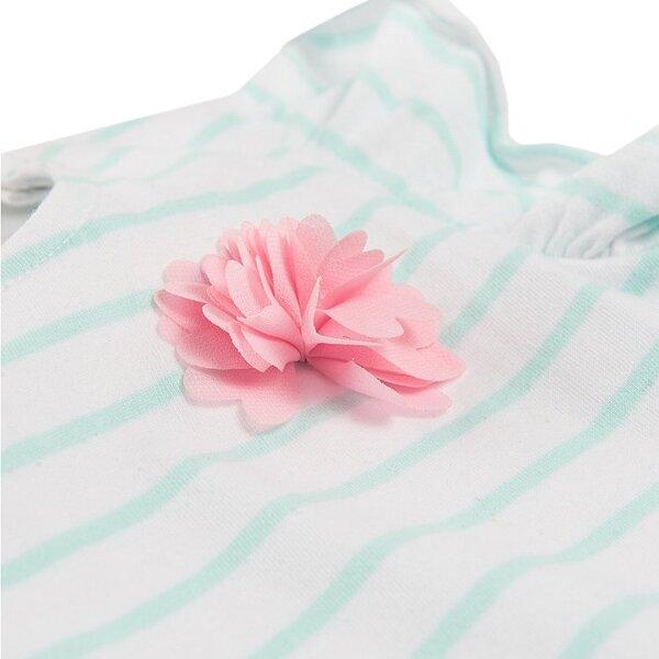Cool Club smėlinukas mergaitėms trumpomis rankovėmis, CCG1602906