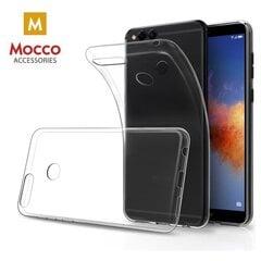 Apsauginė nugarėlė Mocco Ultra Back Case 0.3 mm, skirta Huawei P Smart / Enjoy 7S telefonui, skaidri