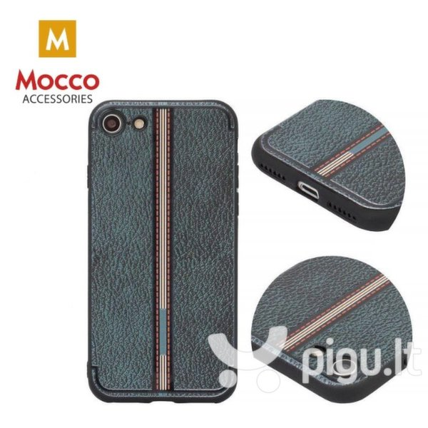 Apsauginis dėklas Mocco Trendy Grid And Stripes Silicone Back Case Samsung G955 Galaxy S8 Plus Black (Pattern 3) internetu