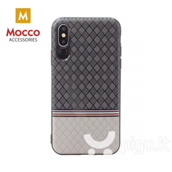 Mocco Trendy Grid And Stripes Силиконовый чехол для Samsung G950 Galaxy S8 Серый (Pattern 2)