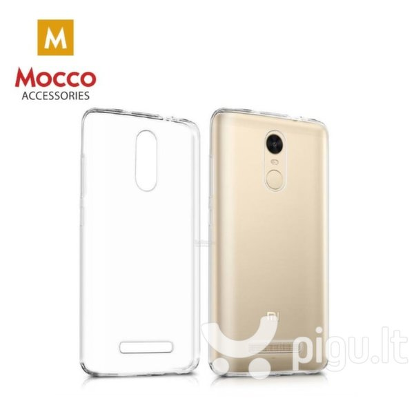 Apsauginis dėklas Mocco Ultra Back Case 0.3 mm Silicone Case HTC Desire 12 Plus Transparent