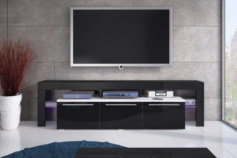 TV staliukas Amieva, juodas