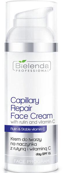 Regeneruojamasis veido kremas su rutinu ir vitaminu C Bielenda professional Face Program Capillary 100 ml