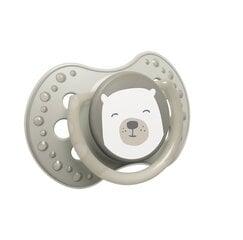 Silikoninis dinaminis čiulptukas Lovi Buddy Bear 0-3 mėn., 2 vnt., 22/863 kaina ir informacija | Čiulptukai | pigu.lt