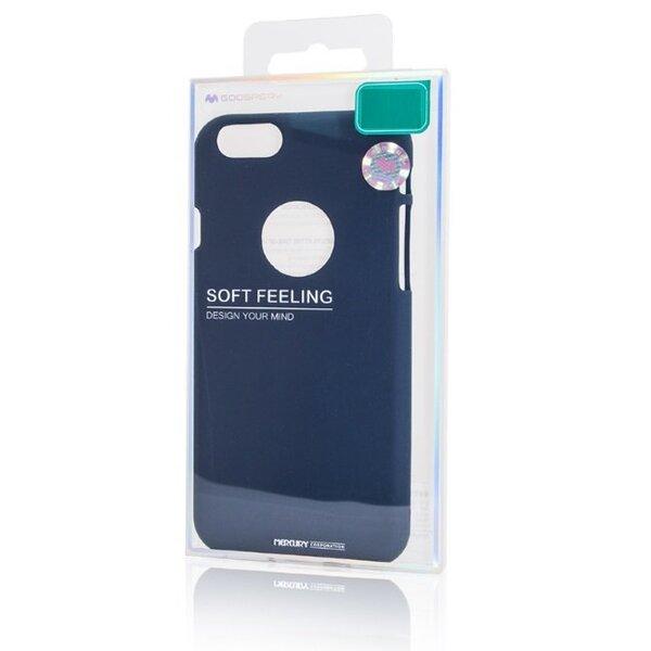 Mercury Soft feeling TPU Супер тонкий чехол-крышка с матовой поверхностью для Huawei P20 Темно синий дешевле