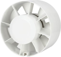 Kanalinis ventiliatorius Europlast E-EXTRA EK100, Ø100 mm kaina ir informacija | Vonios ventiliatoriai | pigu.lt