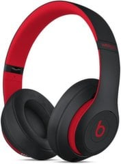 Beats Studio3 Wireless Over-Ear Headphones - The Beats Decade Collection - Defiant Black-Red MRQ82ZM/A